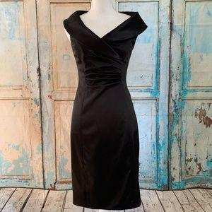 Kay Unger Ann Taylor black dress